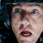 Tom Cruise scared in Edge of Tomorrow