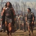 Dwayne Johnson and his men in Hercules