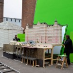 Model of The Grand Budapest Hotel for the film