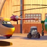 Dipper, Maru and Windlifter in Planes: Fire & Rescue
