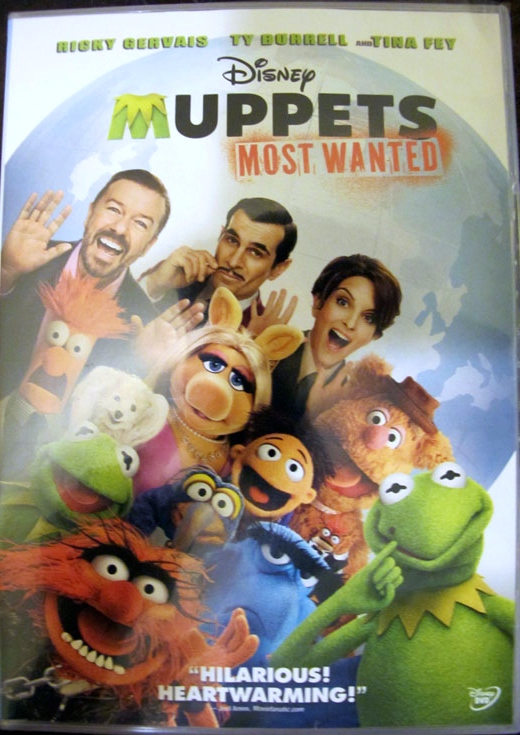 Muppets most wanted dvd coupon