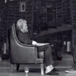 Jeff Bridges and Brenton Thwaites in The Giver