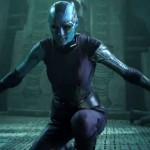 Thanos's other daughter Nebula (Karen Gillan) in Guardians of the Galaxy