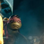 Raphael and Michelangelo in Teenage Mutant Ninja Turtles