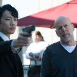 Jung Ji-hoon (Rain) and Bruce Willis in The Prince