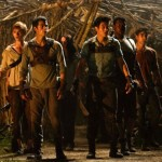 The Glade under attack in The Maze Runner