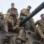 The tank and its men in Fury