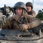 Brad Pitt in the movie Fury