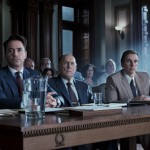 Robert Downey Jr, Robert Duvall and Dax Sheperd in The Judge