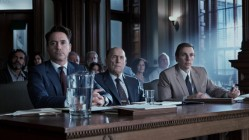 Robert Downey Jr, Robert Duvall and Dax Sheperd in The Judge