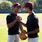 Madhur Mittal and Suraj Sharma in Million Dollar Arm