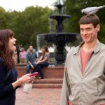 Rachel Melvin and Jim Carrey in Dumb and Dumber To