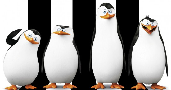 The Penguins in Penguins of Madagascar