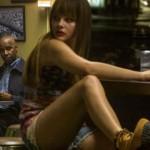 Denzel Washington and Chloe Grace Moretz in The Equalizer