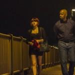 Chloe Grace Moretz and Denzel Washington in The Equalizer