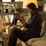 Keanu Reeves and the doggie in John Wick