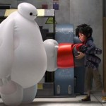 Trying on a new outfit in Big Hero 6