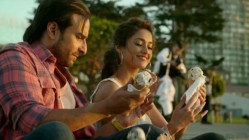 Saif Ali Khan and Ileana D'Cruz in Happy Ending