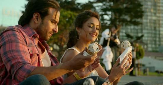 Saif Ali Khan and Ileana D'Cruz in Happy Ending