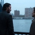 Keanu Reeves and Willem Dafoe in John Wick