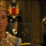 Ben Kingsley and Anjali Jay in Night At The Museum: Secret of the Tomb
