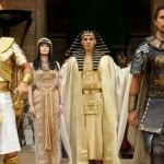 Joel Edgerton, Sigourney Weaver, John Turturro and Christian Bale in Exodus: Gods and Kings