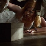 Sarah Snook easily finds scary videocassettes (they still use those in America!) under her bed in Jessabelle
