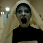 A generic scary lady in The Woman in Black: Angel of Death