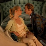 Gwyneth Paltrow and Johnny Depp in Mortdecai