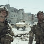 On the battlefield in American Sniper