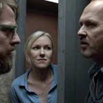 Zach Galifianakis, Naomi Watts and Michael Keaton in Birdman