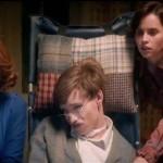 Maxine Peake, Eddie Redmayne and Felicity Jones in The Theory of Everything