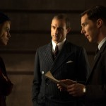 Keira Knightley, Mark Strong and Benedict Cumberbatch in The Imitation Game