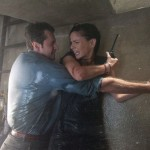Richard Armitage and Sarah Wayne Callies in Into The Storm