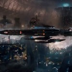 One of many cool space ships in Jupiter Ascending