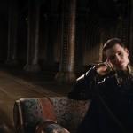Mila Kunis and Eddie Redmayne in Jupiter Ascending