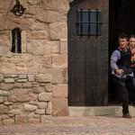 Sean Penn and Jasmine Trinca in The Gunman