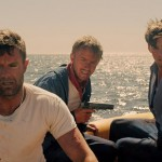 Garret Dillahunt, Tom Felton and Jake Abel in Against The Sun
