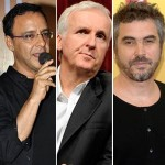 Vidhu Vinod Chopra, James Cameron and Alfonso Curon