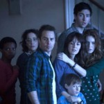 The family with the paranormal gang in Poltergeist