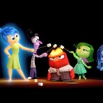 Emotions roasting marshmallows on Anger's hot head in Inside Out