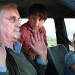 Billy Connolly, Bobby Smalldridge and Emilia Jones in What We Did On Our Holiday