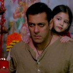 Salman Khan and Harshali Malhotra in Bajrangi Bhaijaan