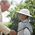 Ian McKellen and Milo Parker in Mr Holmes