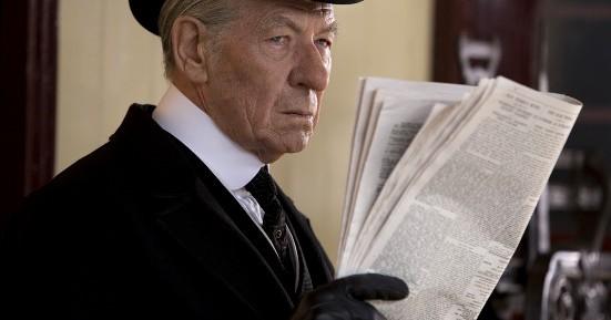 Ian McKellen in Mr Holmes