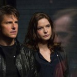 Tom Cruise and Rebecca Ferguson in Mission Impossible: Rogue Nation
