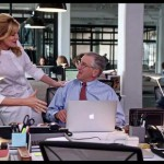 Rene Russo and Robert De Niro in The Intern