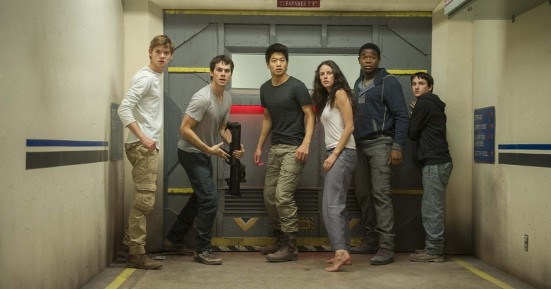 The band of immunes in The Scorch Trials