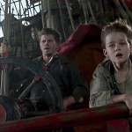 Garrett Hedlund and Levi Miller in PAN