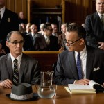 Mark Rylance as Rudolf Abel and Tom Hanks as James Donovan in Bridge of Spies